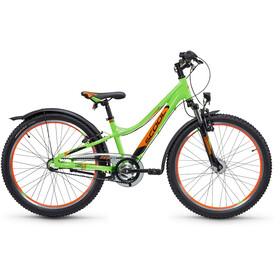 s'cool troX urban 24 3-S - Vélo enfant - vert